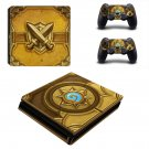 Hearthstone ps4 slim skin decal for console and controllers