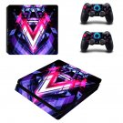 Abstraction ps4 slim skin