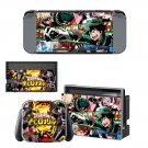 My Hero Academia Nintendo switch console sticker skin