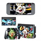 Pokémon Sword and Shield Nintendo switch console sticker skin