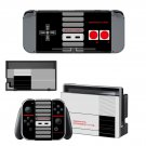 Game Pad abstraction Nintendo switch console sticker skin