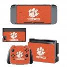Clemson Tigers Nintendo switch console sticker skin