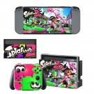 Splatoon Nintendo switch console sticker skin