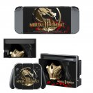 Mortal Kombat 11 Nintendo switch console sticker skin