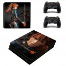 Dead or Alive 6 ps4 pro skin decal for console and controllers