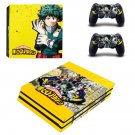 My Hero Academia ps4 pro skin decal for console and controllers