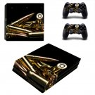 Bullets ps4 pro skin decal for console and controllers
