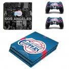 Los Angeles Clippers ps4 pro skin decal for console and controllers