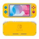 Yellow Nintendo switch Lite skin