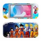 Dragon Ball Z Nintendo switch Lite console sticker skin