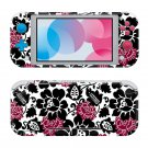 Floral Abstraction Nintendo switch Lite console sticker skin