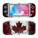Canada Flag Nintendo switch Lite console sticker skin