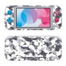 Camouflage Nintendo switch Lite console sticker skin