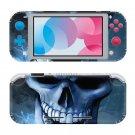Skull HD Nintendo switch Lite console sticker skin