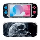 Smoky Skull Nintendo switch Lite console sticker skin