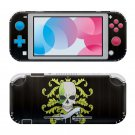 Skull abstraction Nintendo switch Lite console sticker skin