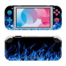 Fire Abstraction Nintendo switch Lite console sticker skin