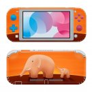 Elephant abstraction Nintendo switch Lite skin