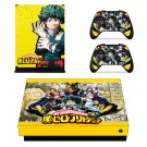 My Hero Academia skin decal for Xbox one X console and controllers