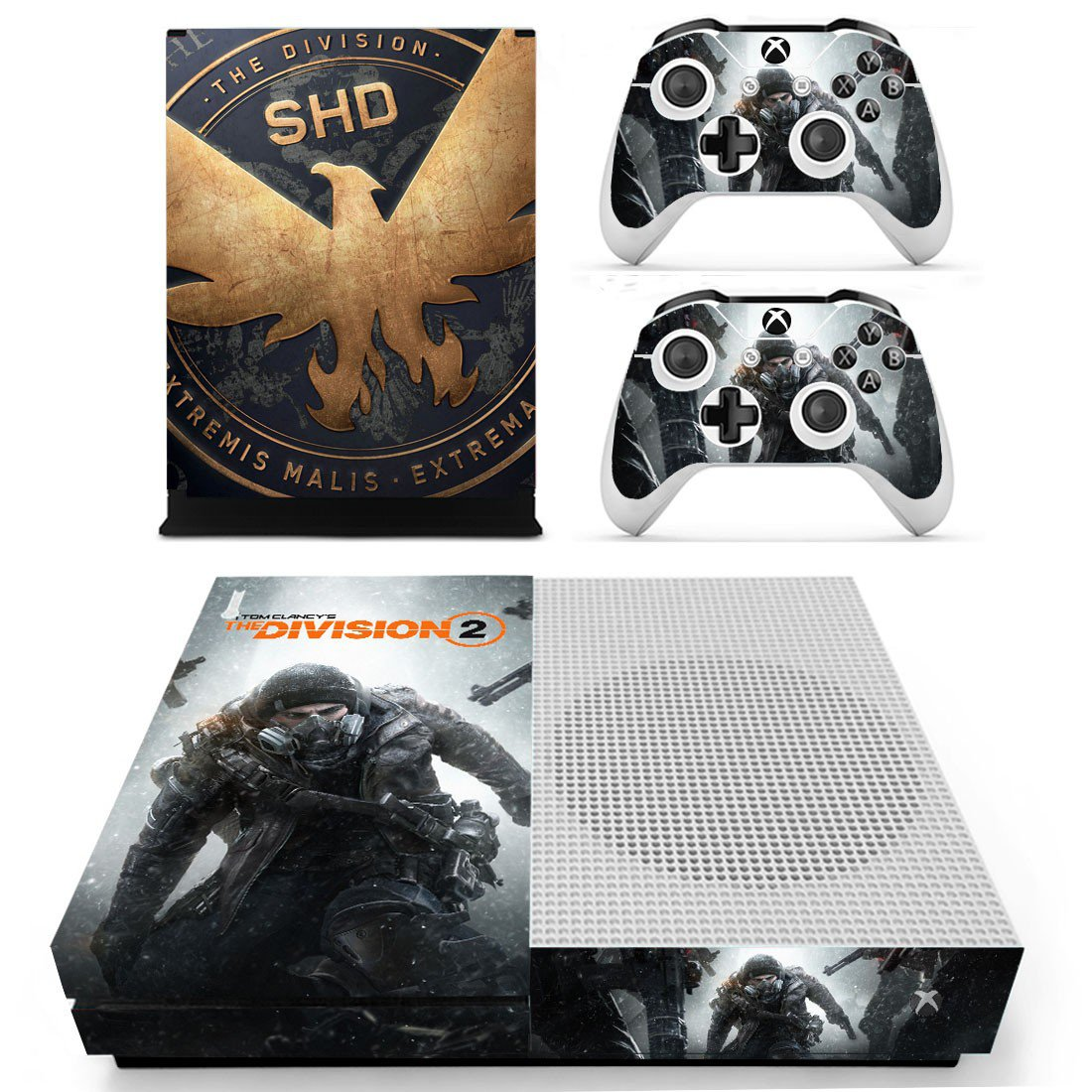 The Division 2 Xbox one S skin