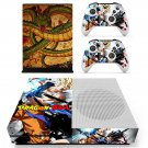 Dragon Ball skin decal for Xbox one X console and controllers