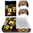 Bendy and the Ink Machine skin decal for Xbox one S console and controllers