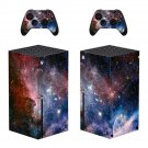 Galxy space Xbox series X skin