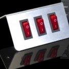 Three Button Switch Plate