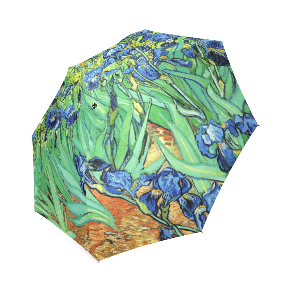 Irises Vincent Van Gogh Foldable Umbrella 8 ribs