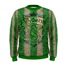 Size XL - Slytherin Men's Sweatshirt Autumn Winter Wear