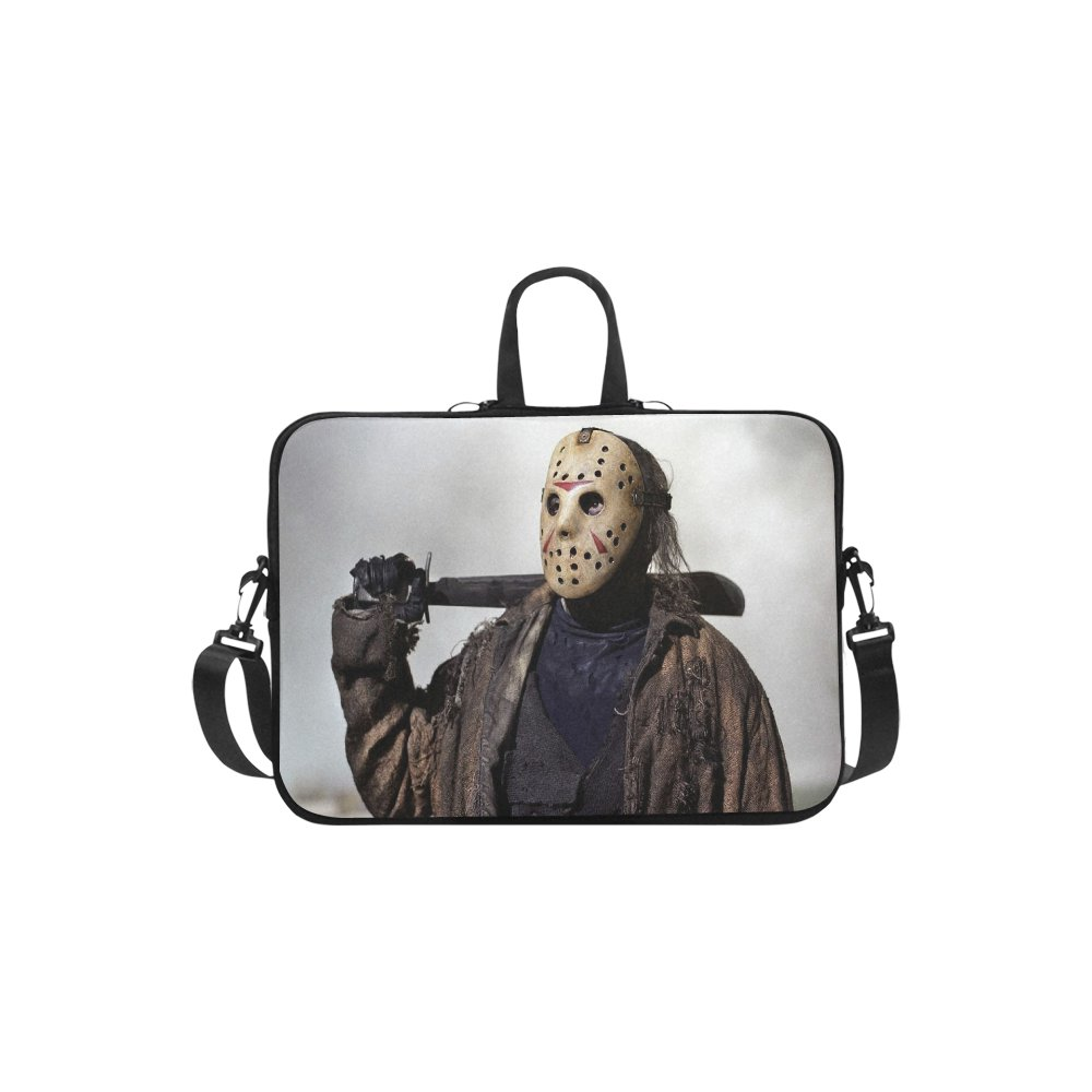 "Jason Voorhees Friday the 13th Sleeve Case Shoulder Bag for Laptop 14"" 14.1"""