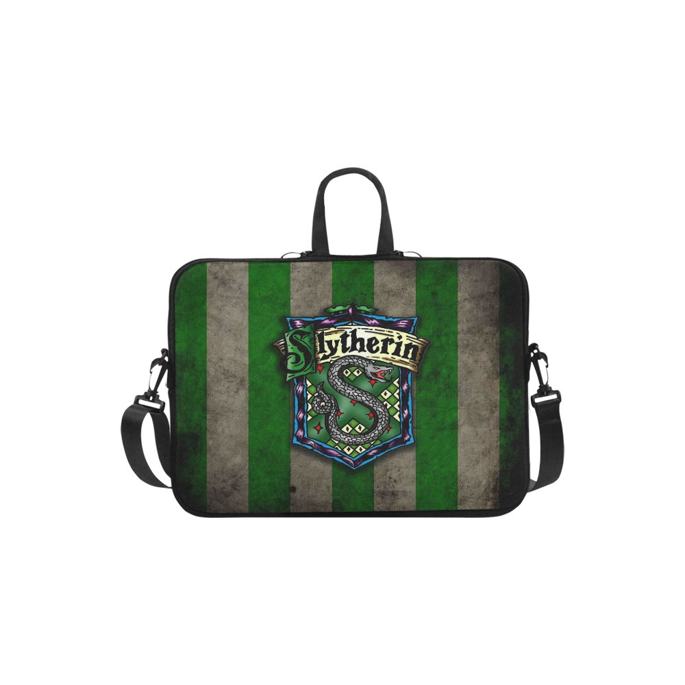 """Slytherin Harry Potter Sleeve Case Shoulder Bag for Laptop 17"""""""