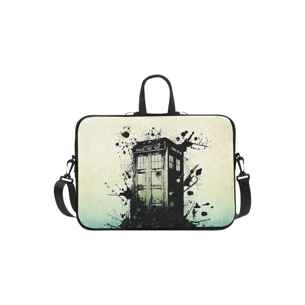 """Police Box Tardis Sleeve Case Shoulder Bag for Laptop 17"""""""