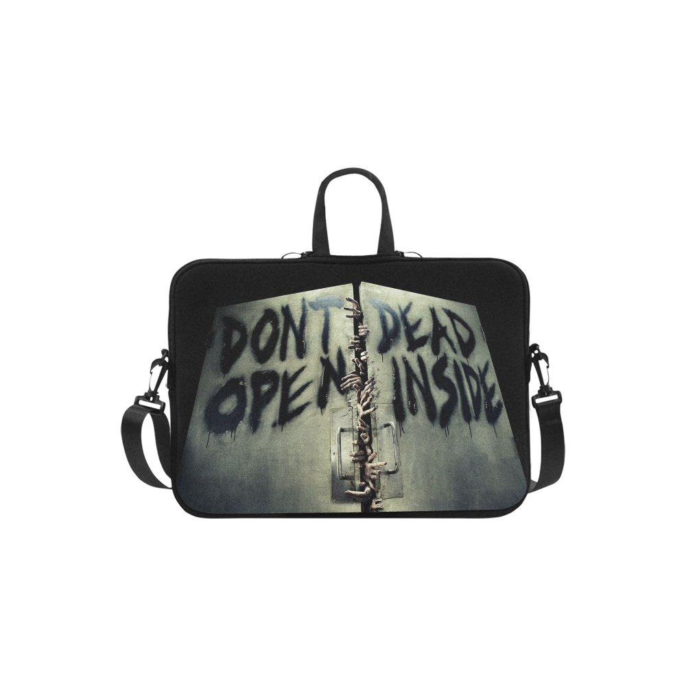 "Walking Dead Don't Open Dead Inside Sleeve Case Shoulder Bag for Laptop 14"""