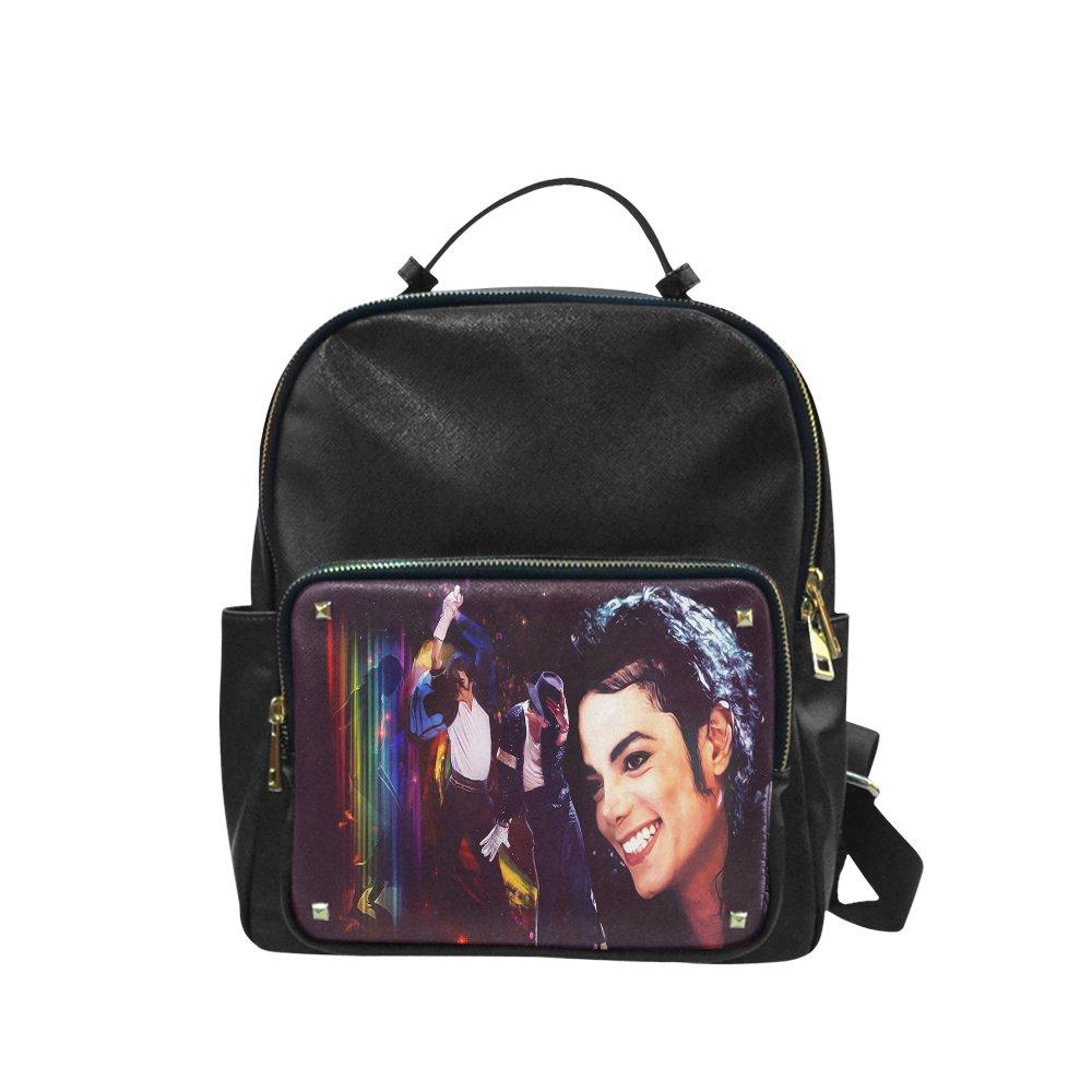 Michael Jackson Leisure Backpack Bag School Bag (Big)