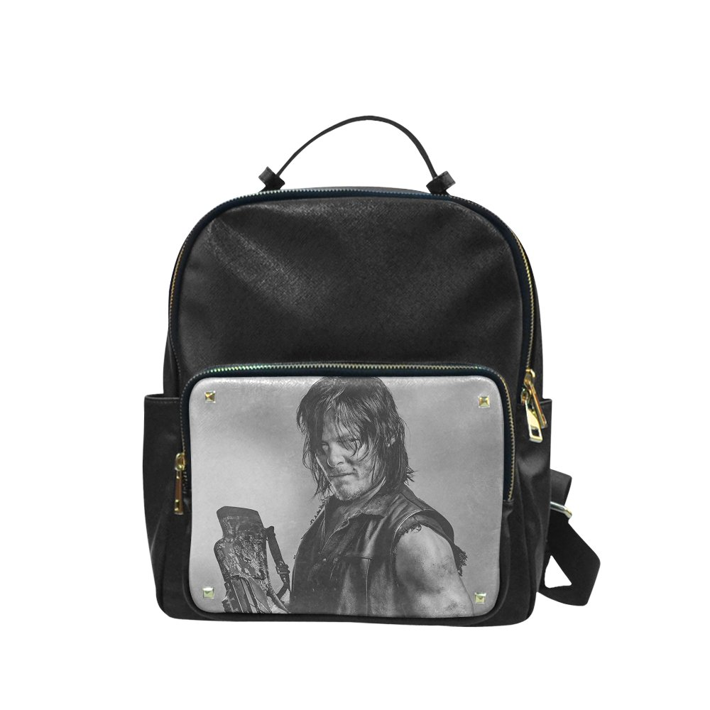 Daryl Dixon The Walking Dead Leisure Backpack Bag School Bag (Big)