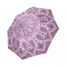 #1 Mandala Lace Ornamental Pattern Foldable Umbrella 8 ribs