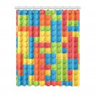 "1x Lego Polyester Window Curtain 52"" x 63"" (132 cm x 160 cm)"