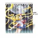 """Sailor Moon Crystal Shower Curtain (Large (66"""" x 72"""")"""