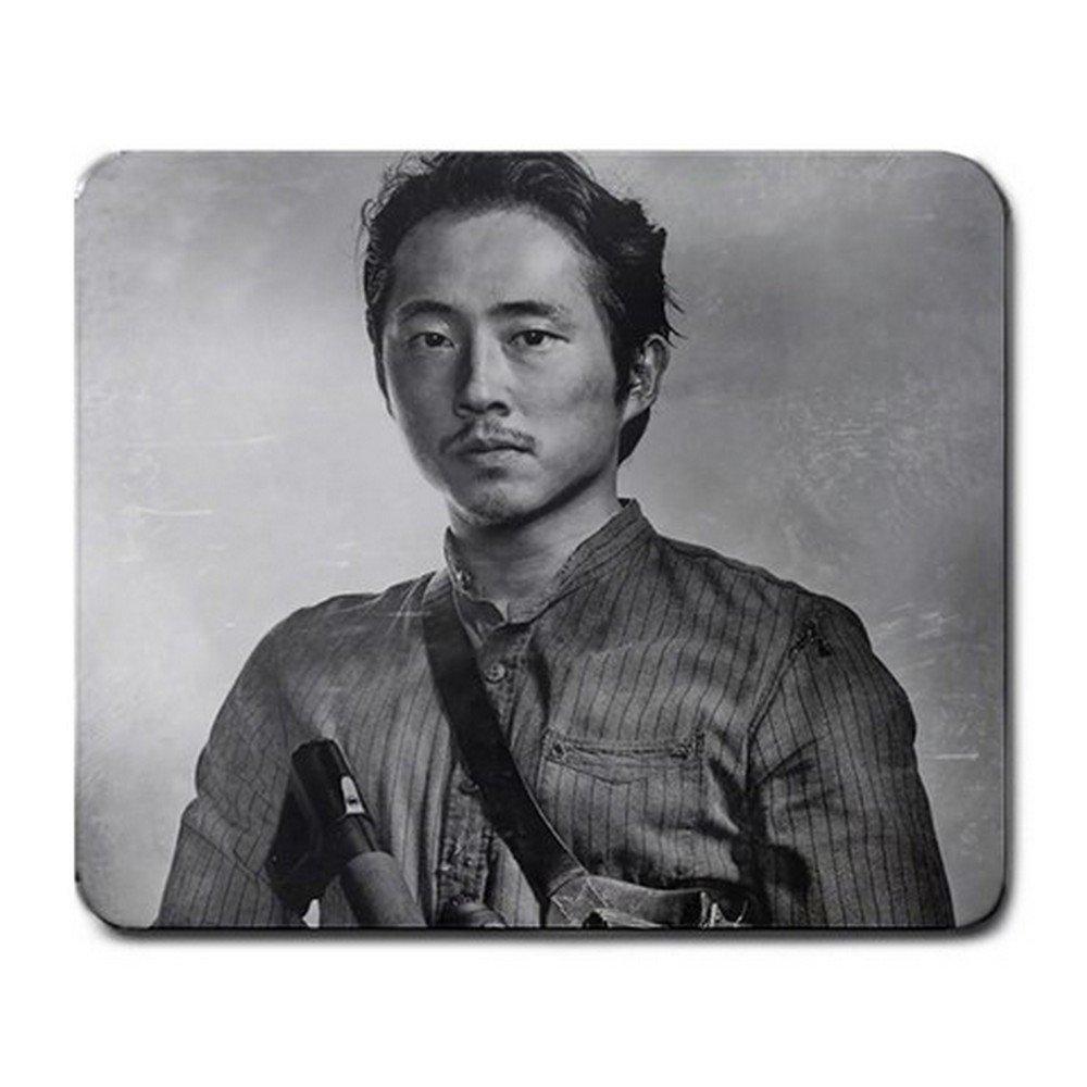 Glenn in Memoriam RIP Walking Dead Mousepad Non Slip Neoprene