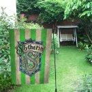 """Slytherin Fraternity Garden Flag 12"""" x 18"""""""