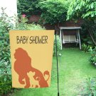"Lion King Simba Baby Shower Event Garden Flag 12"" x 18"""