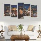 Michael Jackson Tribute Canvas Wall Art Prints (No Frame) 5-Pieces