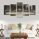 The Last Supper Canvas Wall Art Prints (No Frame) 5-Pieces