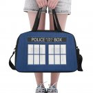 Police Box Tote and Cross Body Travel Bag