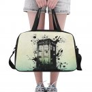 Splashed Tardis Police Box Tote and Cross Body Travel Bag