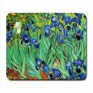 Irises Van Gogh Mousepad Non Slip Neoprene