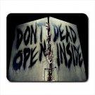 Don't Open Dead Inside Mousepad Non Slip Neoprene