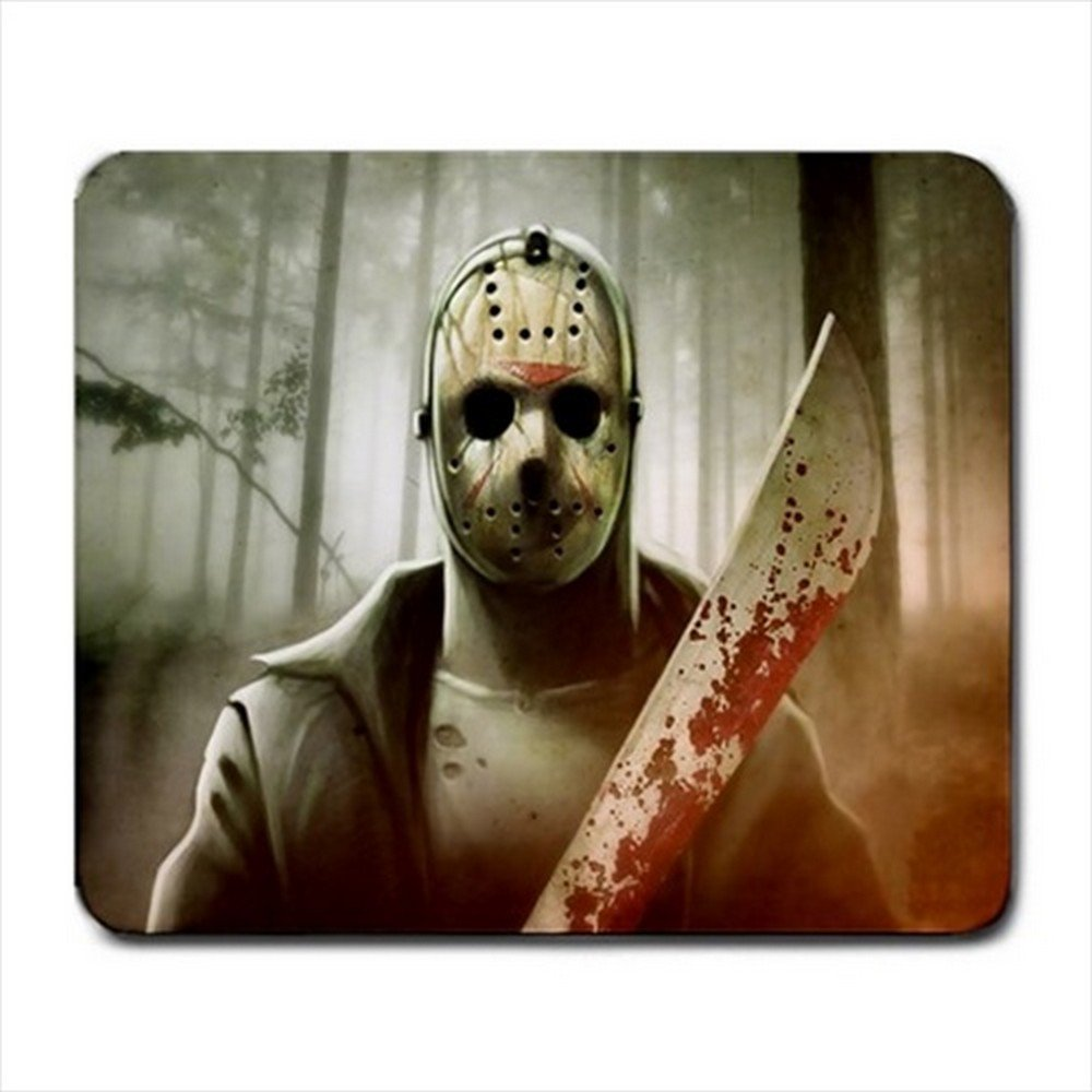 Jason Voorhes Friday the 13th Mousepad Non Slip Neoprene