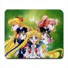 Sailor Moon Inner Scouts Mousepad Non Slip Neoprene